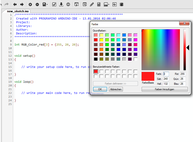 IDE - Blog - PROGRAMINO the alternative Arduino IDE