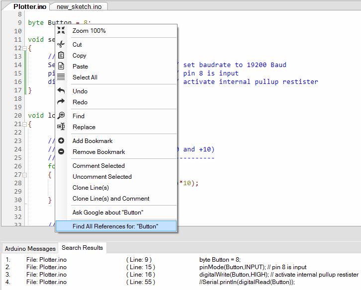 IDE for Arduino - PROGRAMINO the alternative Arduino IDE