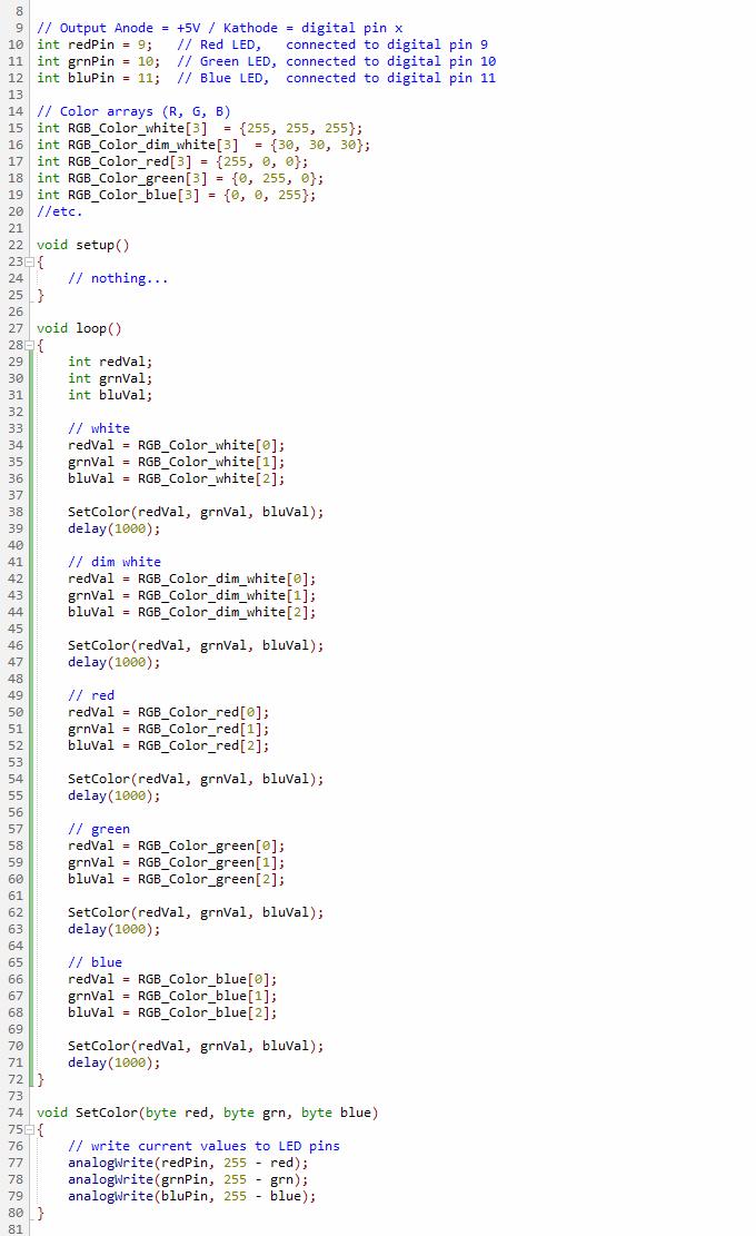 Programino-ide-arduino-rgb-led-color-picker - PROGRAMINO the