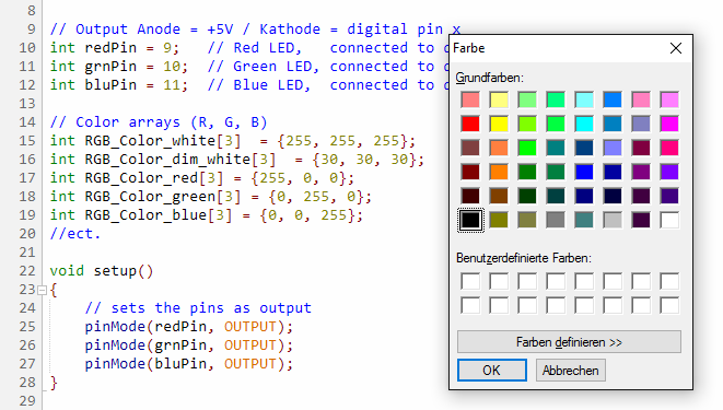 Find Color Code From Image